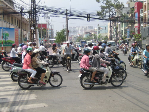 Ho Chi Minh City 4 - traffic