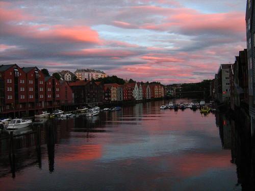 Trondheim - sky