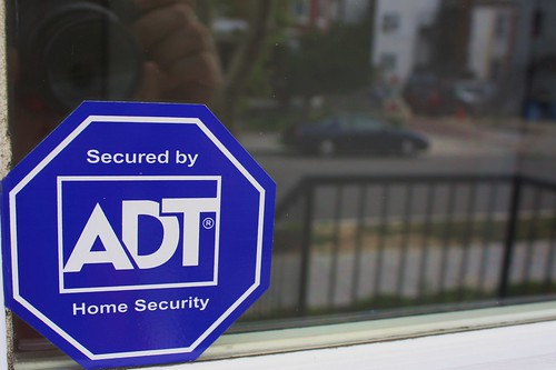 ADT Security Sticker