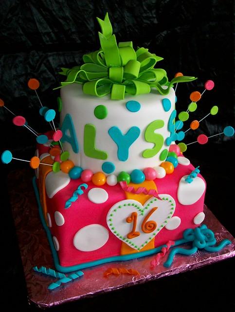 Design Your Own Sweet 16 Cake : Alyssa s Sweet 16 Flickr - Photo Sharing!