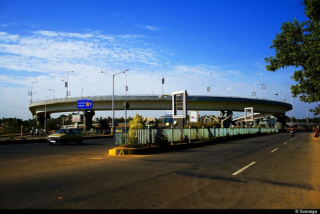 Hebbal Flyover Bangalore India