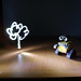Light Graffiti - Wall-E & The Flower
