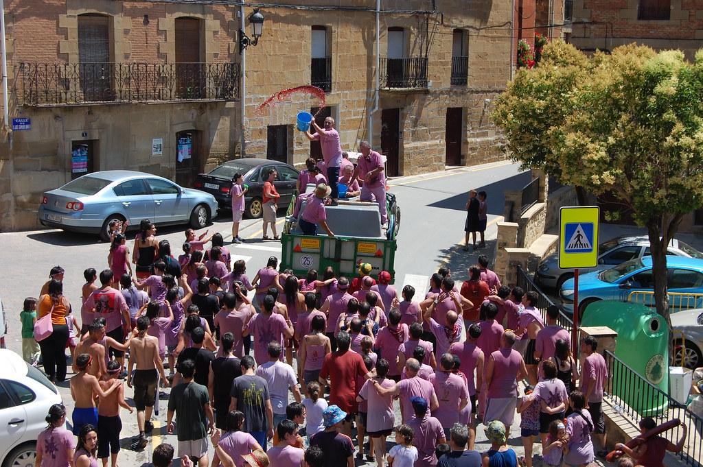 Batalla del Clarete, San Asensio, imagen de la tradición