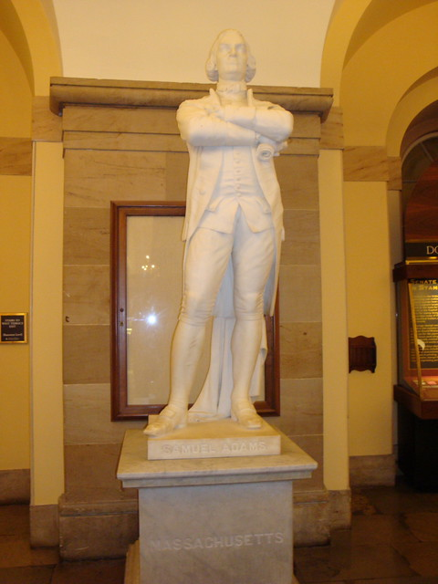 Samuel Adams - US Capitol from Flickr via Wylio