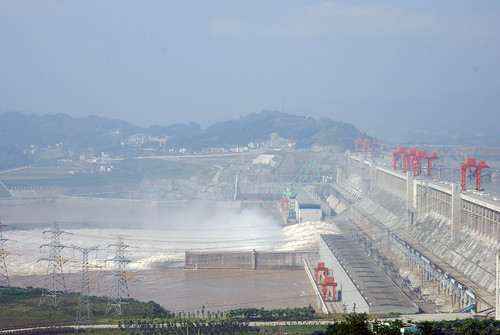 Allen Watkin's phot of the Three Gorges Dam.