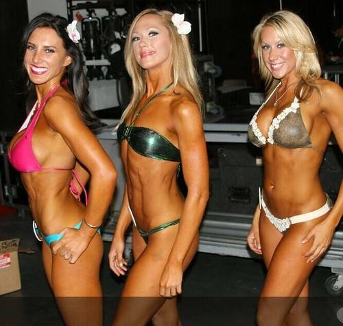 top 3 bikini fitness