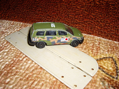 Army minivan