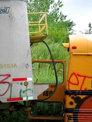 Staging Area - Trailer / School Bus