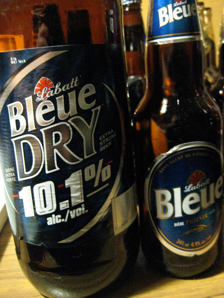 Labatt Bleue Dry & Labatt Bleue