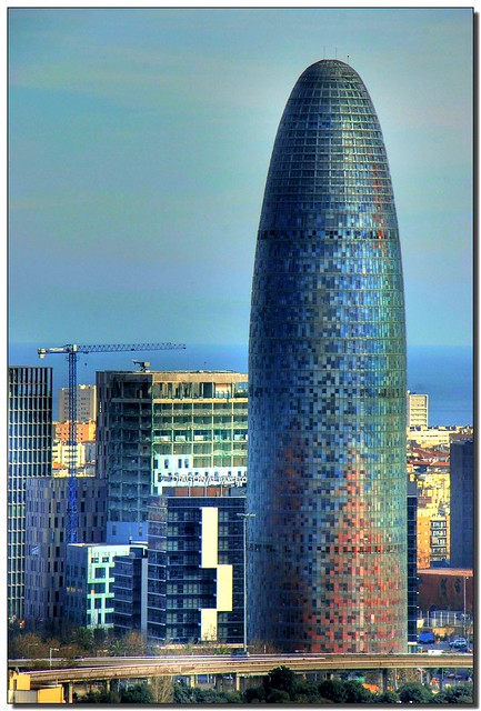 Agbar tower - The giant suppository