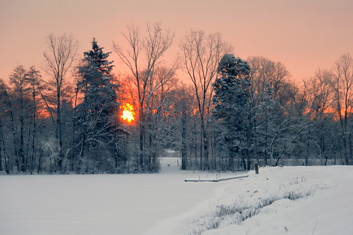 winter snow sunrise michigan annarbor cw gamewinner bartondam photofaceoffplatinum pfogold friendlychallenges pfoisland07a challengew gamex2winner herowinner agcgsweepwinner