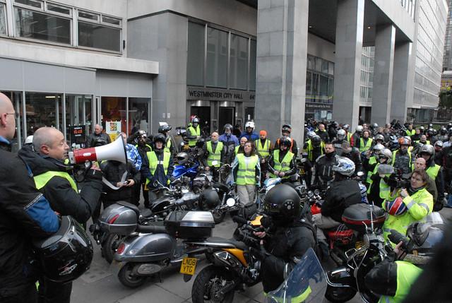 London Motorcycle Parking Map