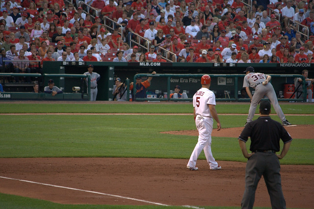 Header of Albert Pujols