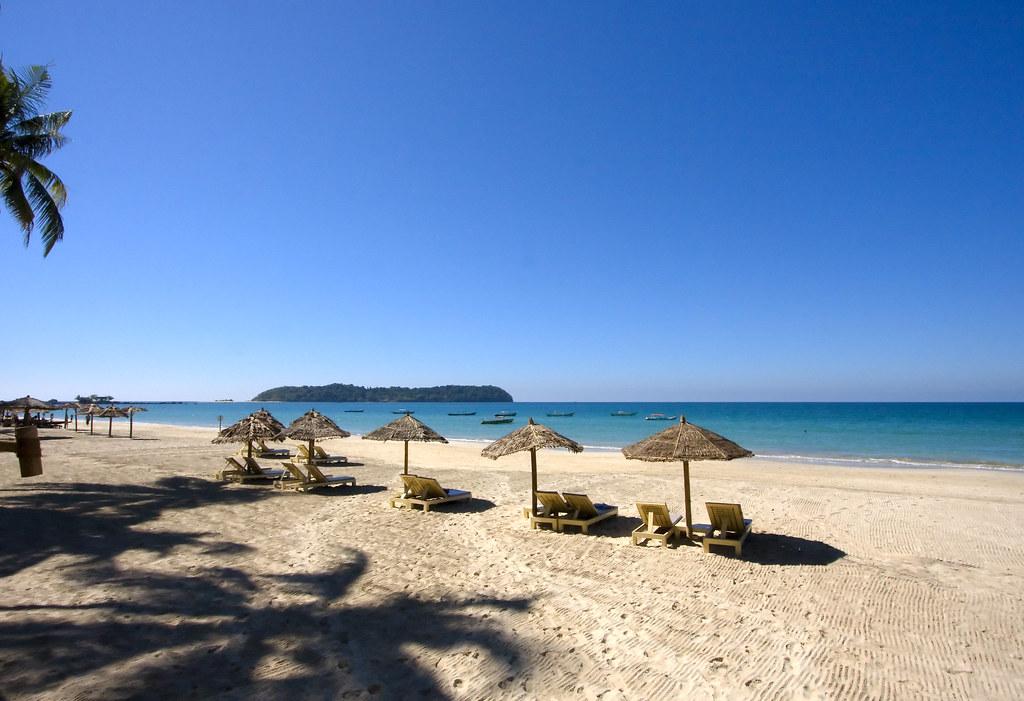 пляж Ngapali
