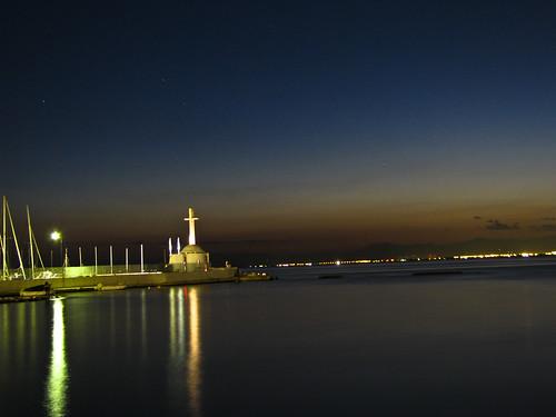 sea church lights dusk thessaloniki salonica εκκλησία θάλασσα totalphoto θεσσαλονίκη platinumphoto σούρουπο φώτα vasilesmanthos βασίλησμάνθοσ