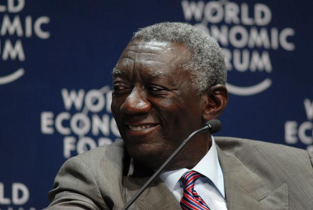 john agyekum kufuor world economic forum  africa  flickr photo sharing