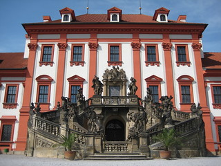 Image of Troja near Sedlec. castle flickr prague troja chateau