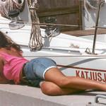 Laura al porto
