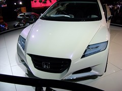 automobile, automotive exterior, exhibition, executive car, vehicle, automotive design, auto show, honda, honda cr-z, bumper, concept car, land vehicle,