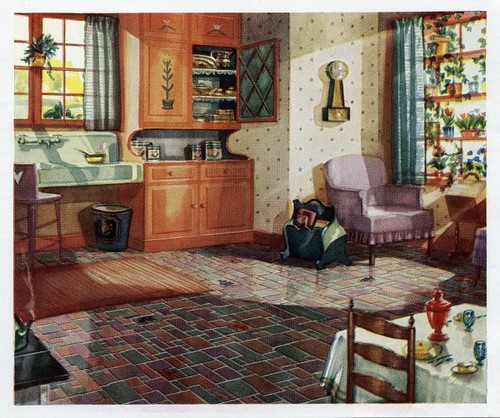 1930 kitchen flickr photo sharing for 1930s interior decoration