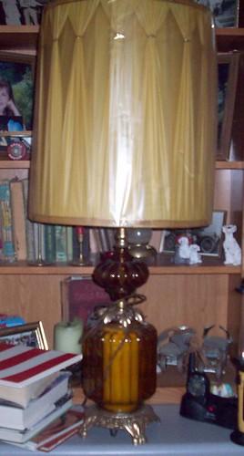 Vintage Lamp with Nightlight