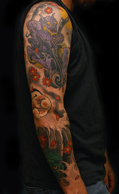 Cool japanese tattoos a gallery on flickr for Cool japanese tattoos