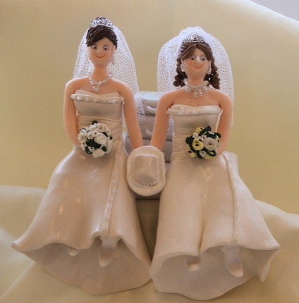 Wedding Cake Toppers Cowboy Girl Brides