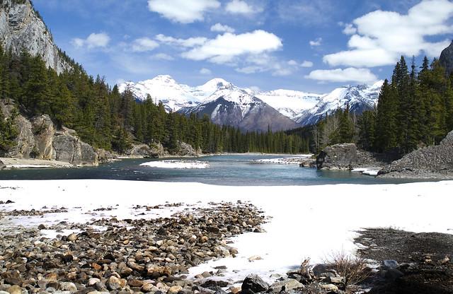 Bow river_Banff