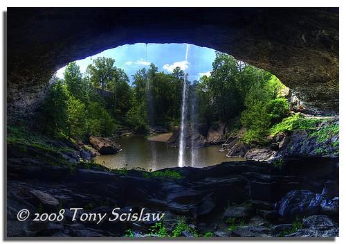 panorama waterfall alabama falls hdr noccalula gadsden 3xp photomatix vertorama