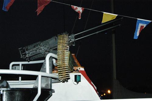 PT Boat Machine Gun 25893