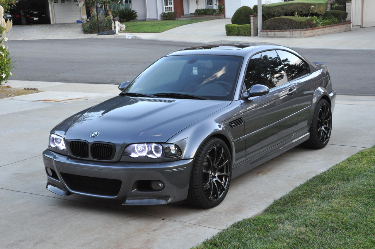 trend cars news bmw e46 m3 smg ii silver grey. Black Bedroom Furniture Sets. Home Design Ideas