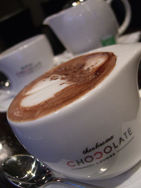 Belgian Hot Chocolate close-up - Theobroma Chocolate, Chad… | Flickr ...