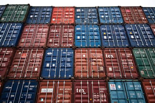 Contenedores para exportación