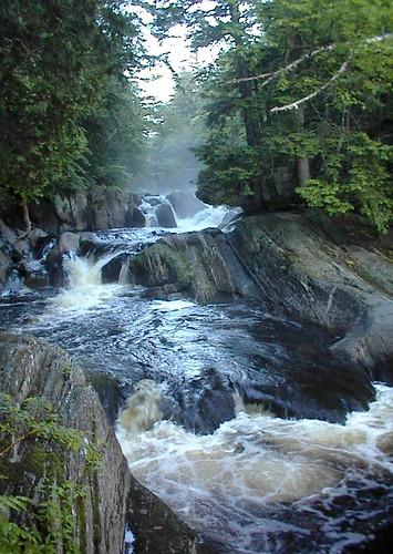 waterfall maine littlewilson 100milewilderness piscataquiscounty elliotsville littlewilsonstream