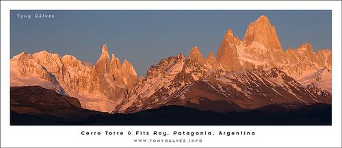 Cerro Torre & Fitz Roy, Patagonia, Argentina