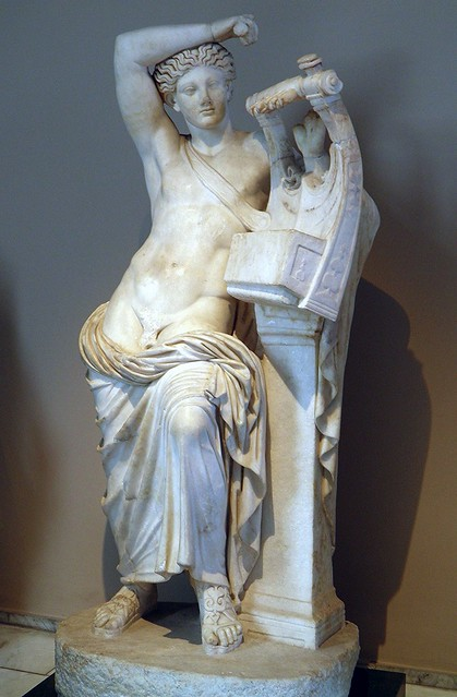 The God Apollo playing the Cithara (Apollo Citharaodos), from Miletus, 2nd century AD, Istanbul Archaeology Museum