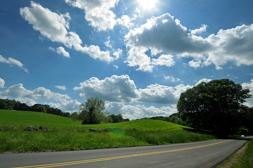 road bridge sky usa cloud sun green nature beautiful barn america creek de countryside back farm hill scene covered valley thomson delaware sight wilmington smiths rd ramsey woodlawn brandywine routehighwayroadthomsonbridgerd