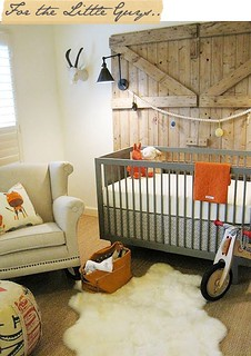 boy nursery orange