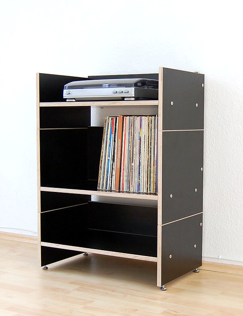 mediaregal roadie schwarz media storage roadie black flickr photo sharing. Black Bedroom Furniture Sets. Home Design Ideas