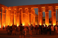 luxor temple at dusk, thebes, egypt 7
