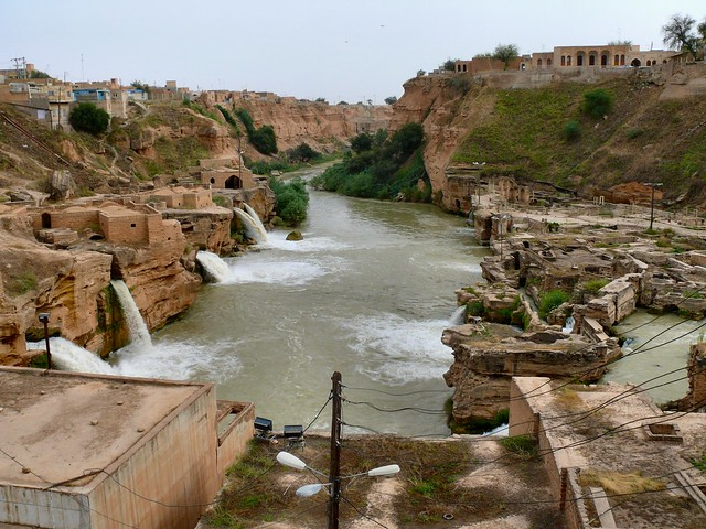 Roman masterpieces at Shushtar