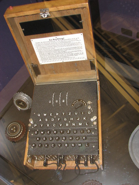 enigma machine how to use
