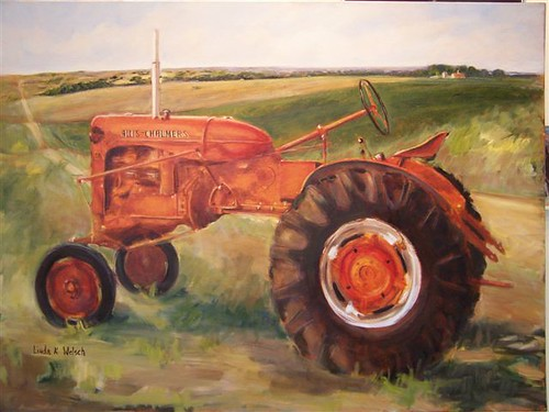 Oldest Antique Tractors : Insideag old tractors as fine art