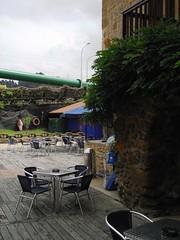 Terraza del Restaurante Untzigain