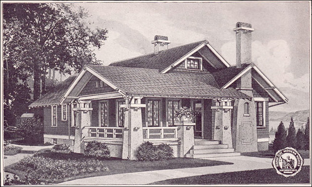 1923 sears kit house avalon flickr photo sharing for Catalog houses