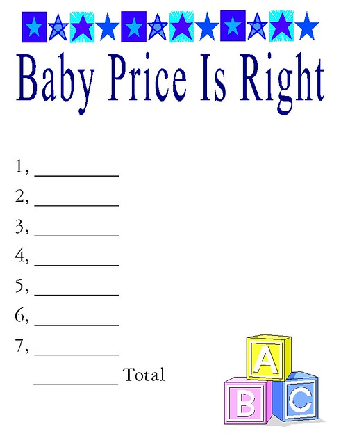 baby price is right flickr photo sharing