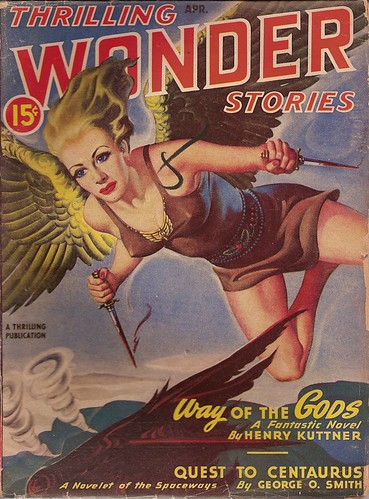 Thrilling Wonder Stories, April 1947