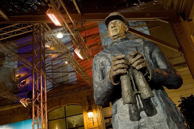 Statut du Général de Gaulle d'Ousmane Sow.
