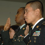 Military Naturalization Ceremony - Yongsan Korea - 15 December 2008 - USFK - United States Army - USAG-Y
