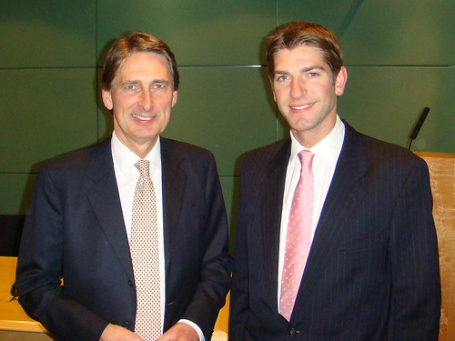 The Rt, Hon. Philip Hammond MP & Chris Kelly MP